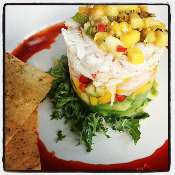 Bahama Breeze Crab Stack