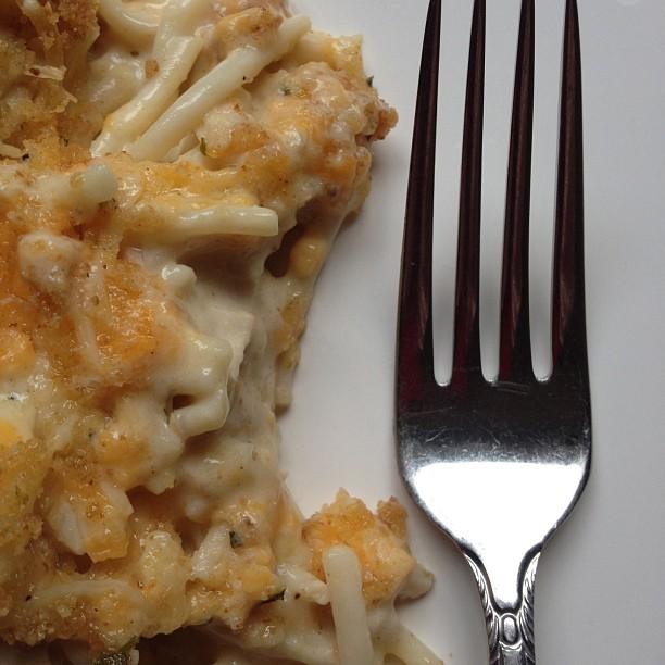 Easy, Creamy Chicken Tetrazzini